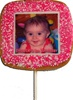 2.5 inch Square Photo/Logo Cookie Pops