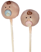 Cake Pops - Baby Face, each