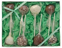 Cake Pop Gift Box of 8, Classic Designs