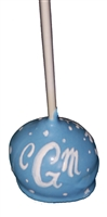 Cake Pops - Monogram, each