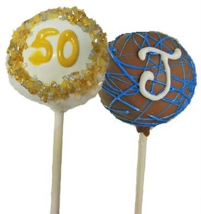 Cake Pops - Number or Letters, each