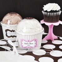 Personalized Cupcake Mix Favors, each