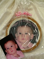 "8"" Round Giant Photo/Logo Cookie, each"