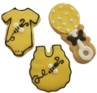Custom Design Baby Cookies