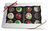 Mini Oreo® Cookies - Holiday Designs, Gift box of 12