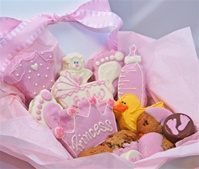 Sweet Treats Gift Box, New Baby