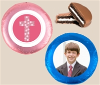 Foil Wrapped Oreo® Cookies - First Communion, Set of 24