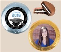 Foil Wrapped Oreo® Cookies - Graduation, Set of 24